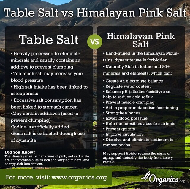 himalayan salt benefits organic